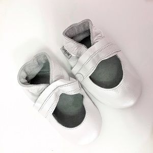 BOBUX Baby Moccasin Shoes 15-21 months Ecoleather